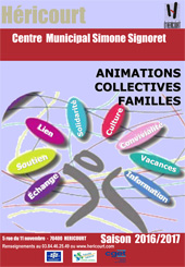 Actions Collectives Familles 2016 - 2017