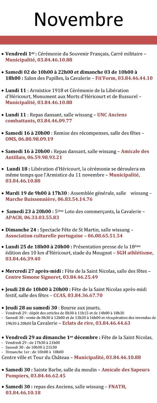 Calendrier 2019 Fete.Le Calendrier Des Fetes Et Agenda Des Manifestations Les
