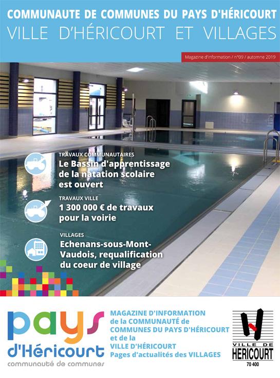 Pays d'Héricourt, Magazine d'informations - n°10 - Automne 2019