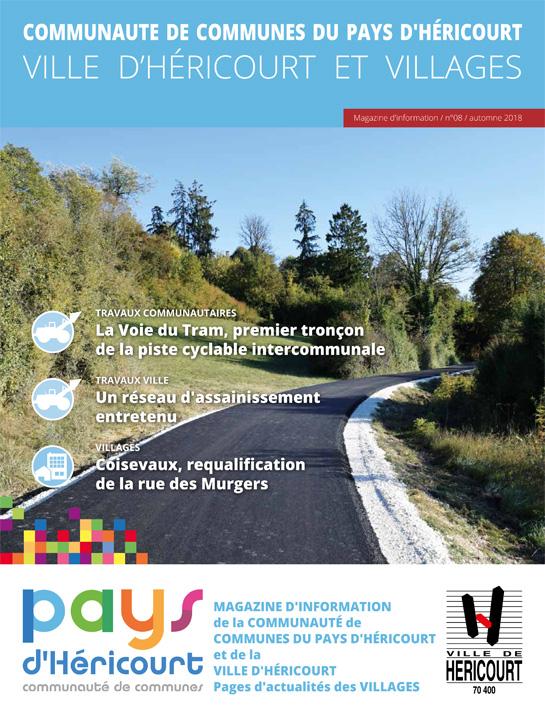 Pays d'Héricourt, Magazine d'informations - n°08 - Automne 2018