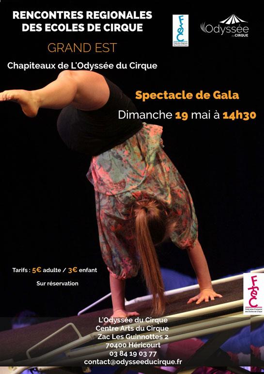 Dim. 19 Mai à 14h30 : Cirque- Spectacle de Gala