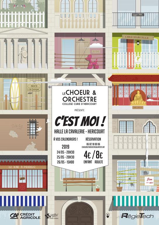 Les 24, 25 et 26 Mai : Choeur et Orchestre - C'est Moi !