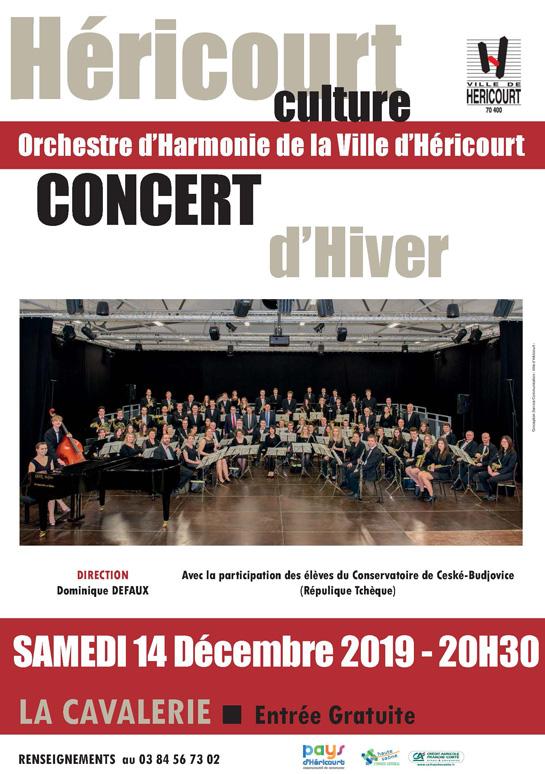 Samedi 14 Décembre : Concert d'Hiver