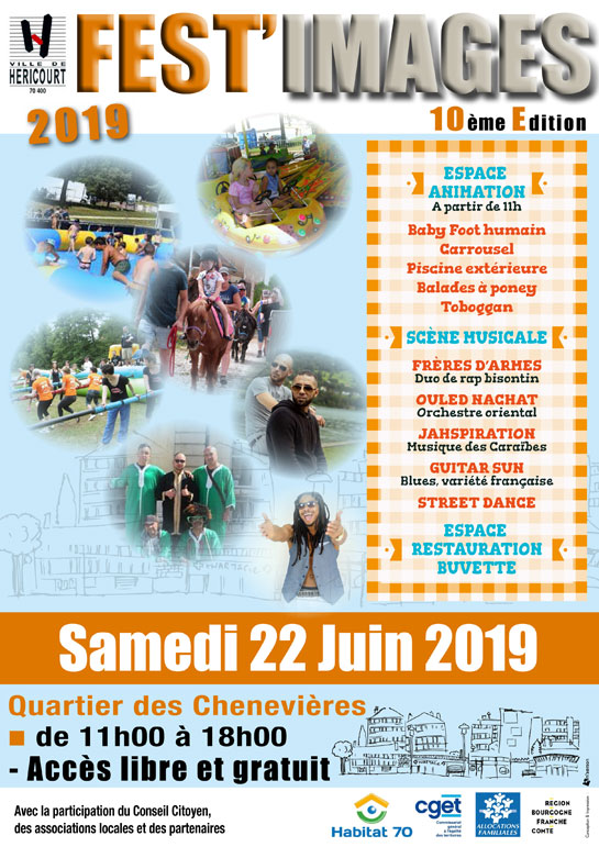 Samedi 22 Juin de 11h à 18h : Fest'images 2019