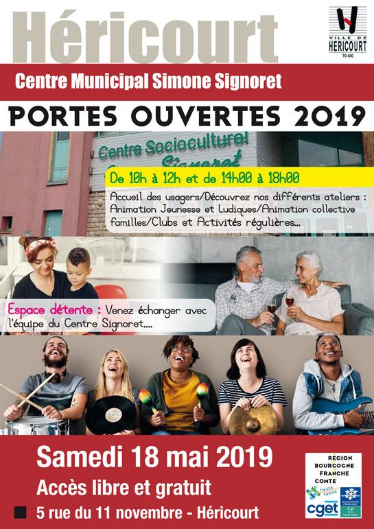 Samedi 18 Mai 2019 - Portes Ouvertes Centre Socioculturel Simone Signoret
