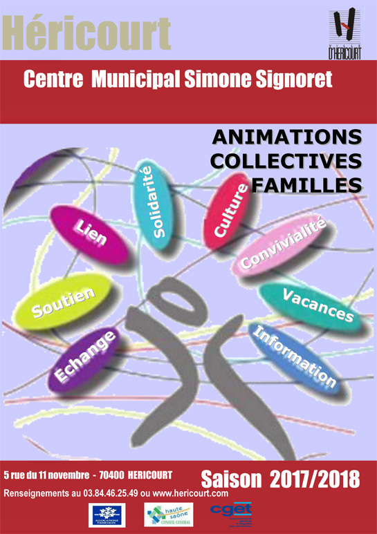 Animations Collectives Familles 2017 - 2018