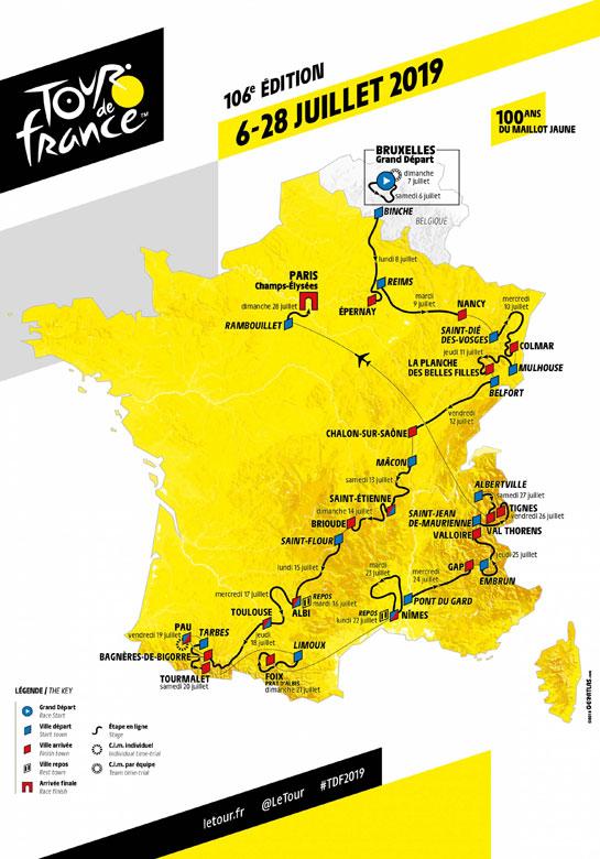 Vendredi 12 juillet : Étape du Tour de France
