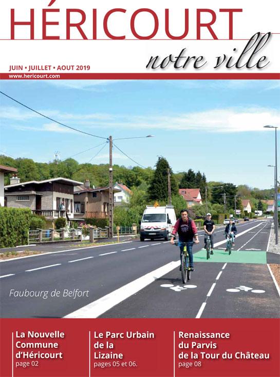 Héricourt Notre Ville - JUIN JUILLET AOUT 2019