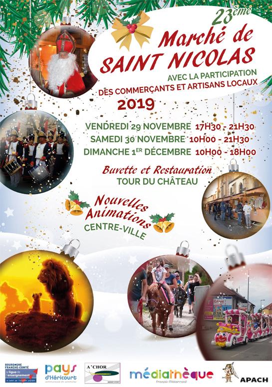Du 30 Nov. au 1er Déc. : Marché de Saint-Nicolas